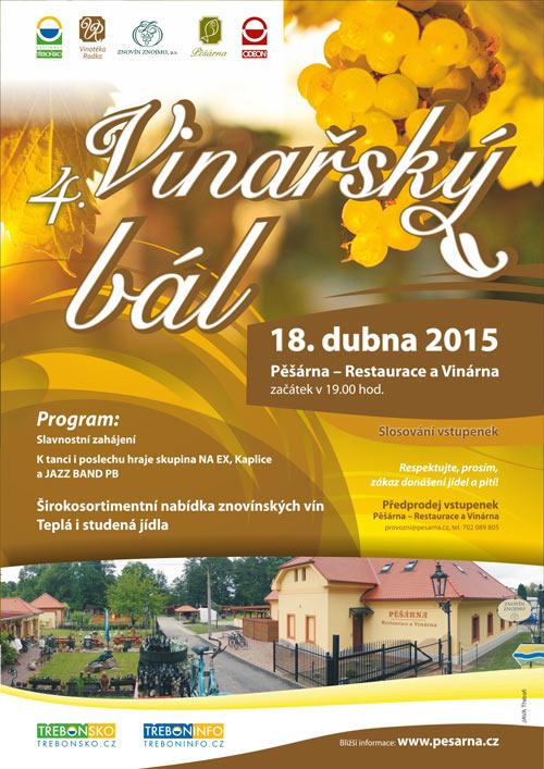 Stáhněte si plakát - Vinařský bál 2015.