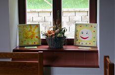 Ukázka z výstavy dětských obrázků.