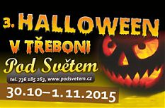 Halloween v Třeboni